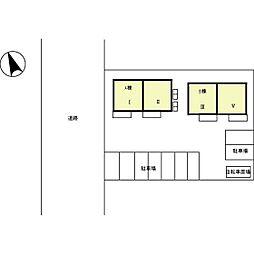 [テラスハウス] 石川県金沢市大額3丁目 の賃貸【/】の外観