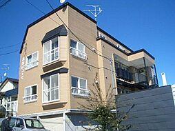 清田6−2コーポ[2階]の外観
