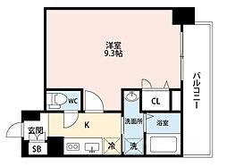 ADVANCE 大阪 SORTE[311号室]の間取り