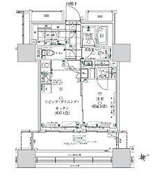 ローレルタワールネ浜松町 2階1SLDKの間取り