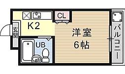 PRESTAGE MISASAGI(プレステージミササギ)[207号室号室]の間取り