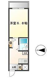 MIC賃貸ビル[4階]の間取り