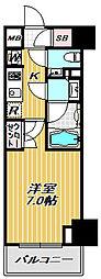 ミレーネ品川荏原[10階]の間取り