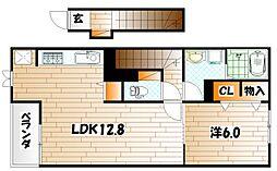 ミニョン[2階]の間取り