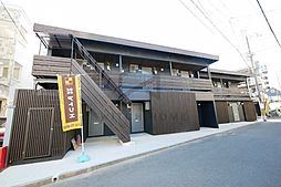 大阪府東大阪市西堤1丁目の賃貸アパートの外観