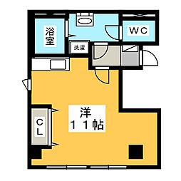 assurance satsuki[3階]の間取り