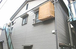 東京都新宿区大久保1丁目の賃貸アパートの外観