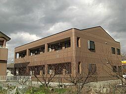 広島県福山市平成台の賃貸アパートの外観