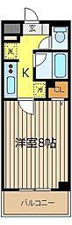 アンシャンテ朝霞[8階]の間取り