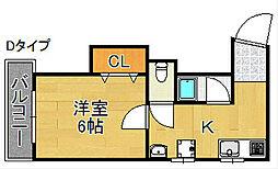 豊グランドハイツ[5階]の間取り