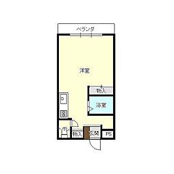 レナジア富士[205号室]の間取り