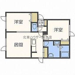 SBR HOME[1階]の間取り