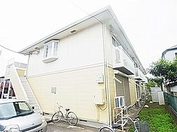 千葉県柏市吉野沢の賃貸アパートの外観