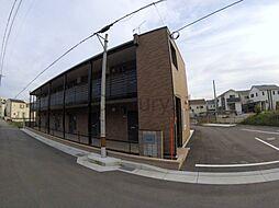 兵庫県川西市新田2の賃貸アパートの外観