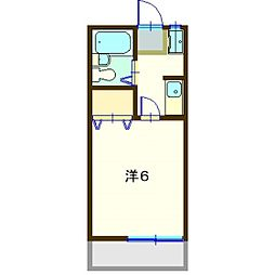 第八グリ−ンコ−ポ[2階]の間取り