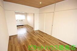 スカイハイツ新田[402号室]の外観