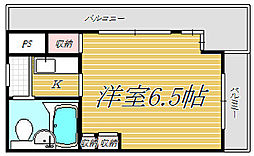 メゾン・ド・マジョレ[3階]の間取り