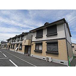 奈良県大和高田市池田の賃貸アパートの外観