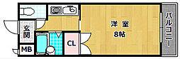 M'PLAZA津田駅前八番館[3階]の間取り