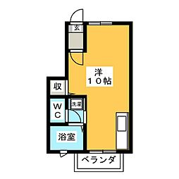 Spring House V[1階]の間取り