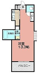 Grand E'terna福岡天神橋[2007号室]の間取り