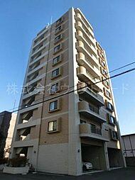 北海道札幌市中央区南五条西26丁目の賃貸マンションの外観