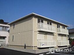 愛知県岡崎市六供町字4丁目の賃貸アパートの外観