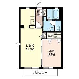SOPHIA[2階]の間取り
