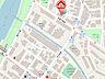 地図,1DK,面積20.76m2,賃料3.3万円,札幌市営南北線 中の島駅 徒歩6分,,北海道札幌市豊平区平岸一条2丁目