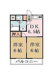 パークメゾン88 A棟[105号室]の間取り