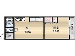 大拓ビル2[4階]の間取り