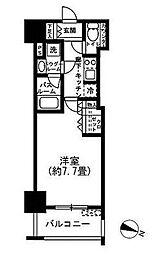 シティハウス東麻布[6階]の間取り