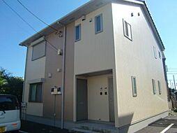 神奈川県茅ヶ崎市松尾の賃貸アパートの外観
