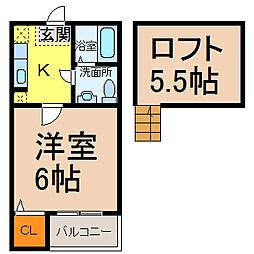 サンクチュアリ (サンクチュアリ)[1階]の間取り