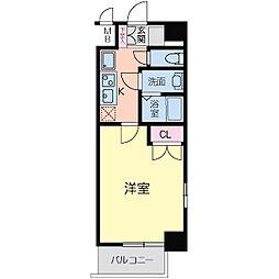 フォレシティ日本橋V[0212号室]の間取り