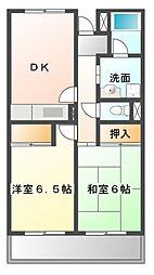 セントロ習志野[3階]の間取り