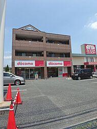 埼玉県坂戸市にっさい花みず木3丁目の賃貸マンションの外観
