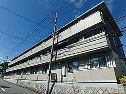 兵庫県神戸市北区北五葉5丁目の賃貸アパートの外観