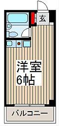 埼玉県さいたま市南区別所3の賃貸マンションの間取り