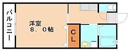 ライフステージ徳前[1階]の間取り