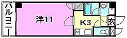 Y2ビル[205 号室号室]の間取り
