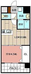 Apartment3771[805号室]の間取り
