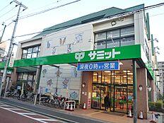サミットストア大田千鳥町店:徒歩8分