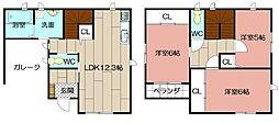 [一戸建] 福岡県北九州市門司区高田 の賃貸【/】の間取り