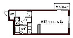 プリンスプラザ山鼻[1階]の間取り