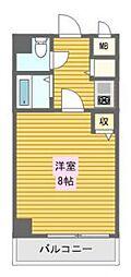 CityLifeディナスティ日本橋[2階]の間取り