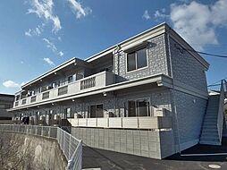 広島県福山市春日町3丁目の賃貸アパートの外観