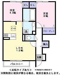 renom[1階]の間取り