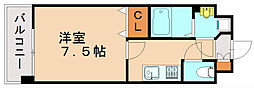 エンクレスト天神東III[10階]の間取り