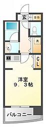 サンロワール江坂[506号室号室]の間取り